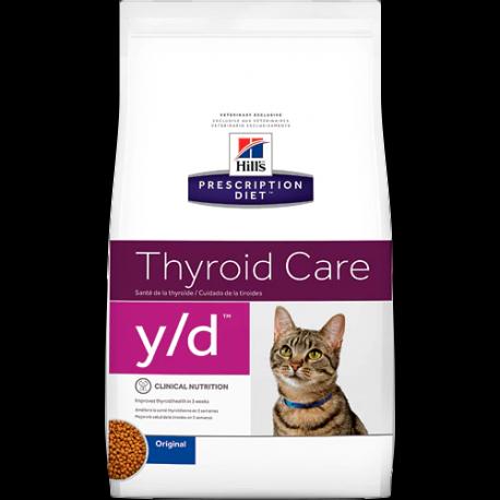 Hill's prescription diet feline y/d thyroid care