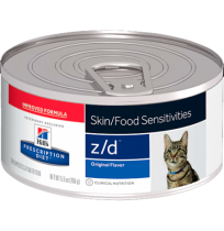 Hill's prescription diet feline z/d skin/food sensitivities (lata)