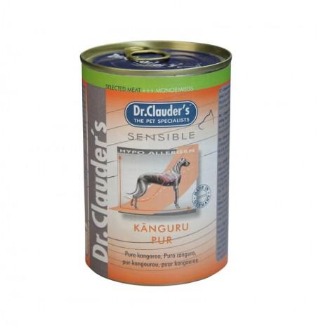 Lata sensible puro canguro dr.clauder's para perros sensibles