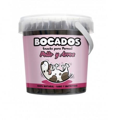 Bocados pollo snack