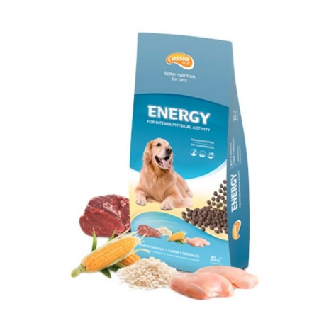 Pienso cassia energy para perros (alta energía)
