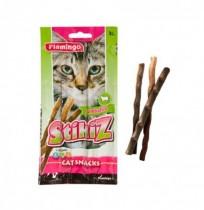 Stikiz cordero snack barritas blandas para gatos