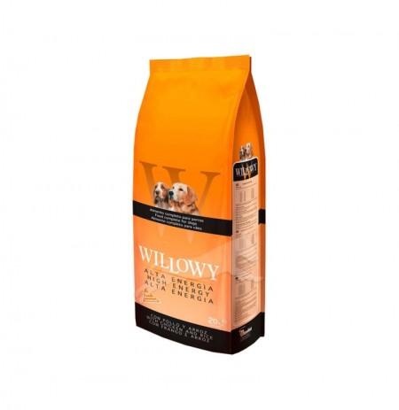 Willowy alta energía (cordero y arroz)