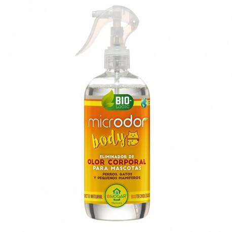 Eliminador de olor corporal microdor body