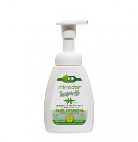 Microdor foam champú espuma seca elimina de olor