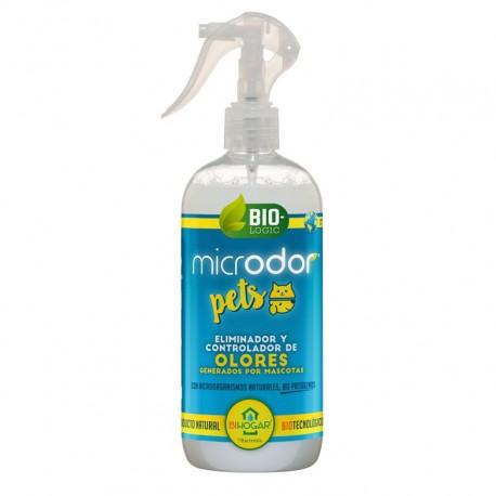 Microdor pets eliminador malos olores