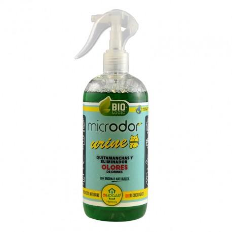 Quitamanchas y eliminador de olores de orines microdor urine