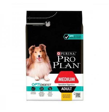Purina pro plan digestión sensible perro adulto mediano cordero