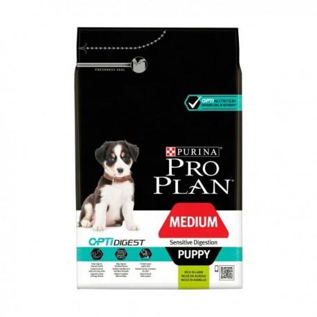 Purina pro plan digestión sensible puppy mediano cordero