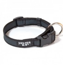 Collar julius-k9 negro - color & gray