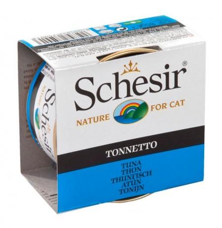 Schesir atún al natural latas para gatos