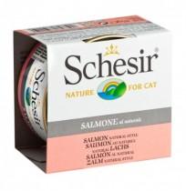 Schesir salmón al natural latas gato