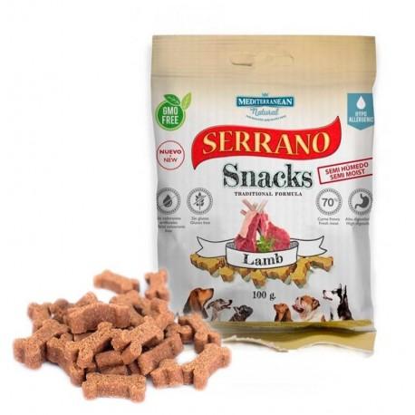 Snacks serrano cordero para perros