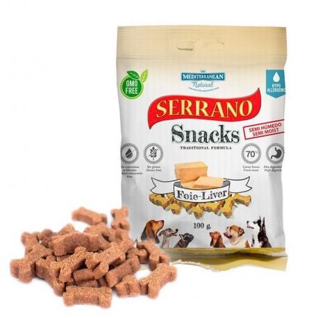 Snacks serrano foie para perros