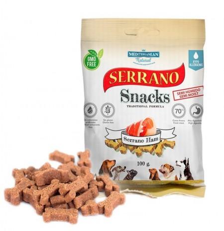 Snacks serrano jamón para perros