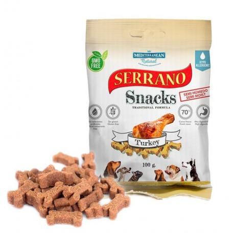 Snacks serrano pavo para perros