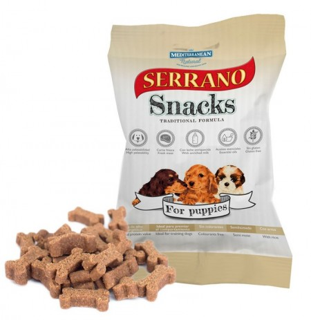 Snacks serrano puppies para cachorros