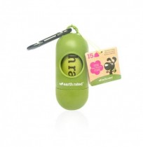 Dispensador de bolsas aroma lavanda earth rated