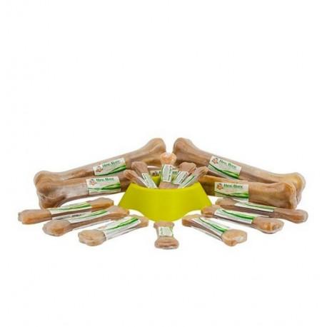 Huesos de piel natural king bone para perros