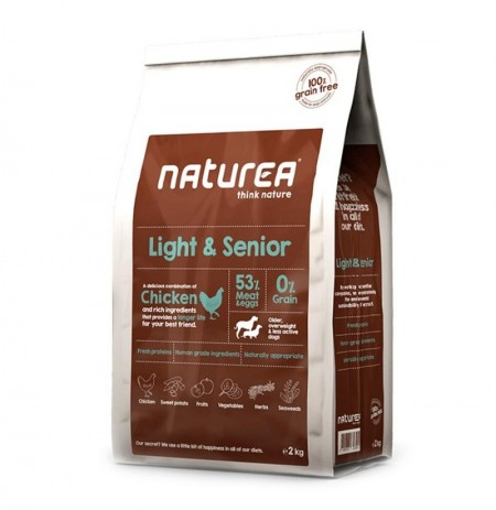 Naturea light senior (perros sedentarios o ancianos)