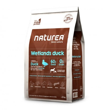 Naturea wetlands duck pato para perros