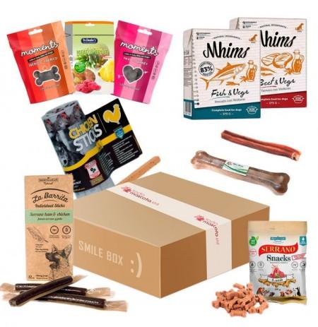 SMILE BOX (golosinas y premios para perros)