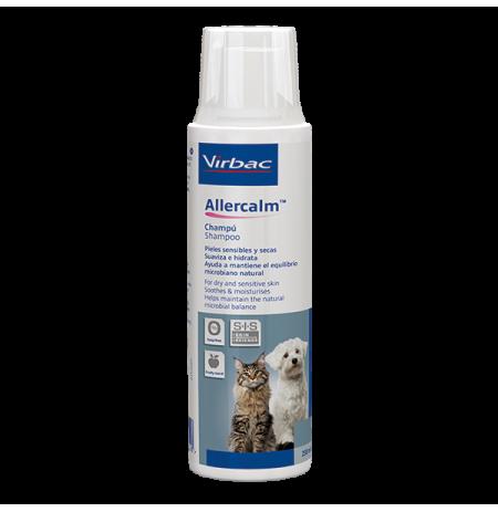 Allercalm (Clearium) champú para piel sensible o seca de perros y gatos