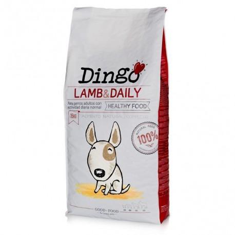 Saco pienso Dingo Lamb & Daily de Cordero de Dingonatura