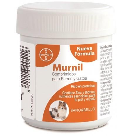 Murnil comprimidos piel y pelo para perros y gatos