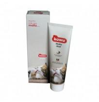 kawu malta para gatos antibolas de pelo 100g