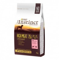 True instinct high meat salmón y atún medium - maxi perros adultos