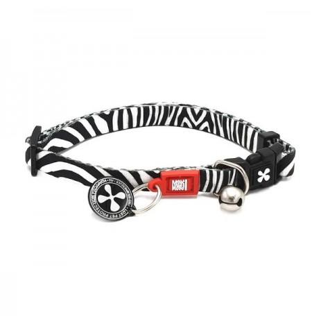 Max & molly collar cebra para gatos