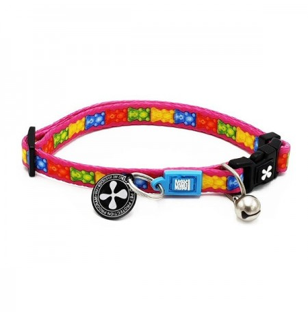 Max & molly collar jelly bear para gatos