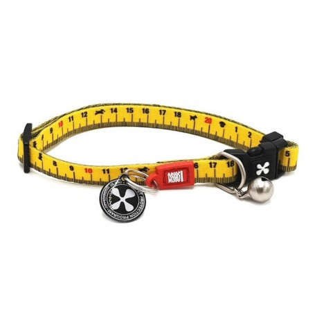 Max & molly collar ruler para gatos