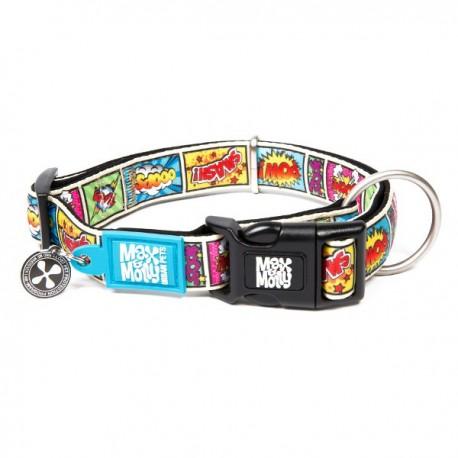 Max & molly collar comic para perros