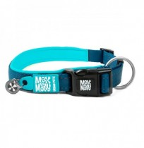 Max & molly collar matrix blue sky para perros
