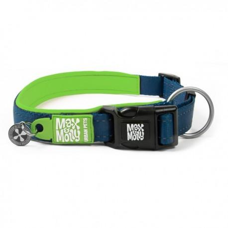 Max & molly collar matrix green para perros