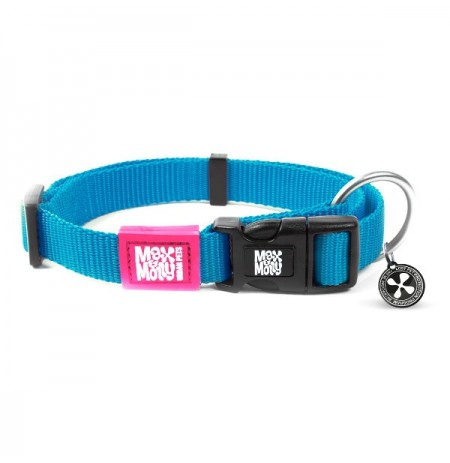 Max & molly collar pure line blue sky para perros
