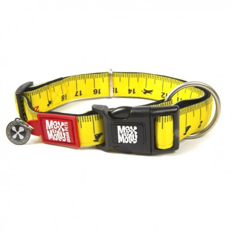 Max & molly collar ruler para perros