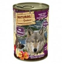 Natural greatness conejo y pato latas para perros