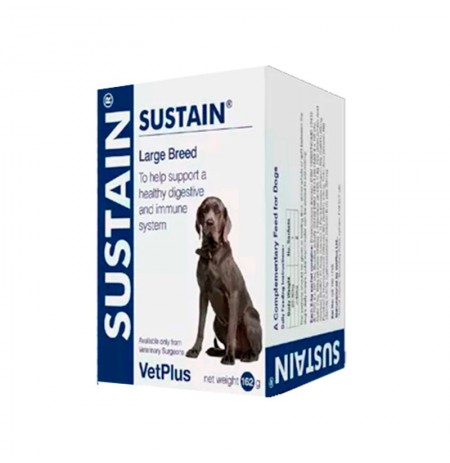 Sustain vetplus razas grandes para apoyo digestivo e inmunitario
