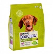 Dog chow adult de cordero para perros