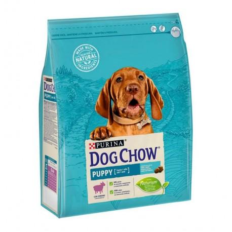 Dog chow puppy de cordero para cachorros