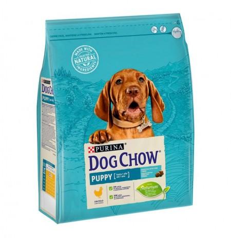 Dog chow puppy de pollo para cachorros