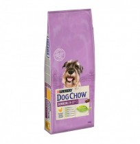 Dog chow senior de pollo para perros
