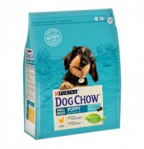 Dog chow small puppy para cachorros mini