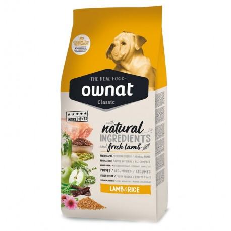 Ownat classic cordero y arroz para perros