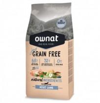 Ownat just grain free adult cordero para perros