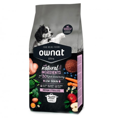 Ownat ultra medium sterilized (perros esterilizados)
