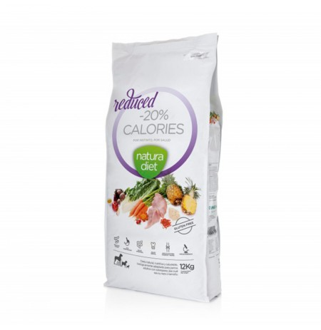 Natura diet reduced -20% calories (perros con sobrepeso)